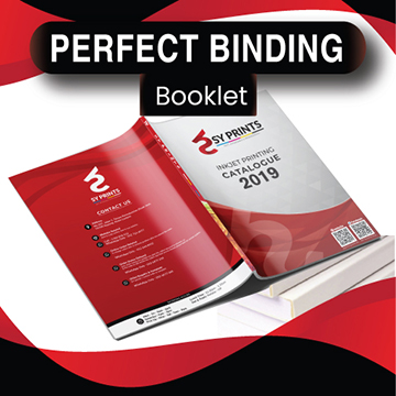 Perfect Binding Booklet